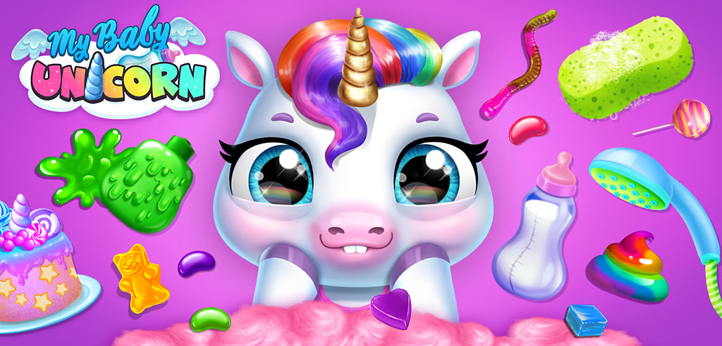 My Baby Unicorn – Cute Rainbow Pet Care & Dress Up – New Game